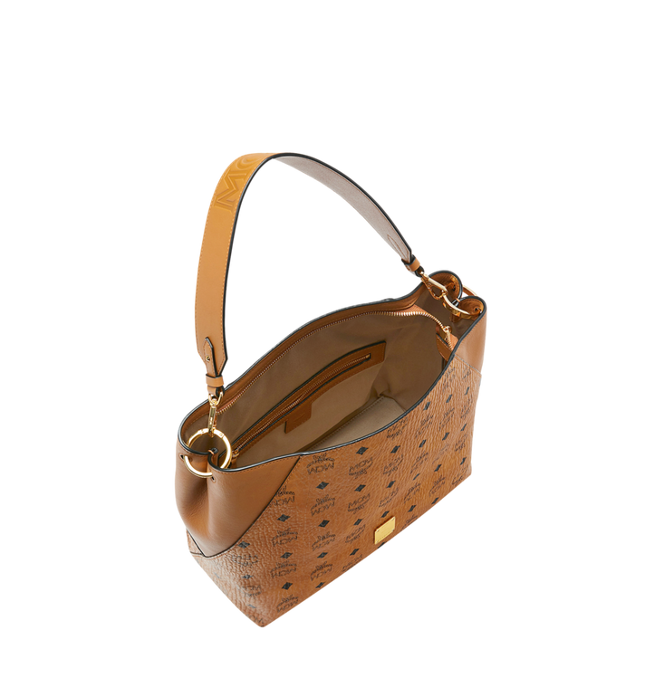 MCM Klara Hobo-Tasche in Visetos Alternate View 5