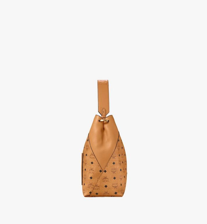 MCM Klara Hobo in Visetos Cognac MWH9SKM85CO001 Alternate View 2