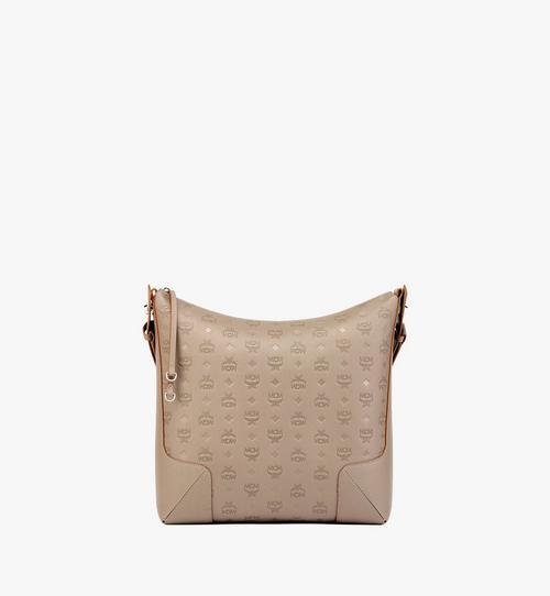 กระเป๋าโฮโบ Klara ทำจากหนังพิมพ์ลายโมโนแกรม
