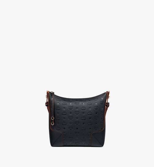 Klara Hobo-Tasche aus Leder mit Monogramm