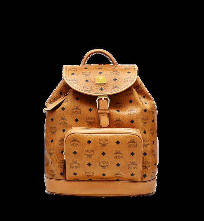 MCM Heritage Rucksack in Visetos mit einzelner Tasche Alternate View
