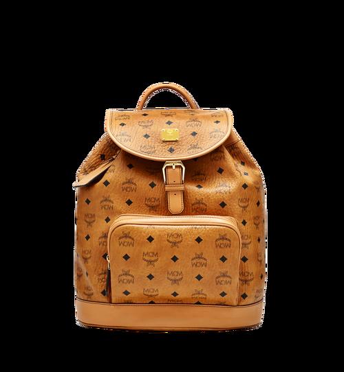 Heritage Single Pocket Rucksack in Visetos