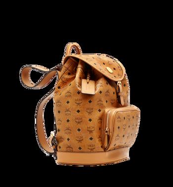 MCM Heritage Single Pocket Rucksack in Visetos Alternate View 2