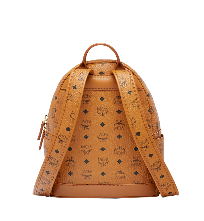MCM Stark Classic Rabbit Backpack in Visetos Cognac MWK6AXL06CO001 Alternate View 4