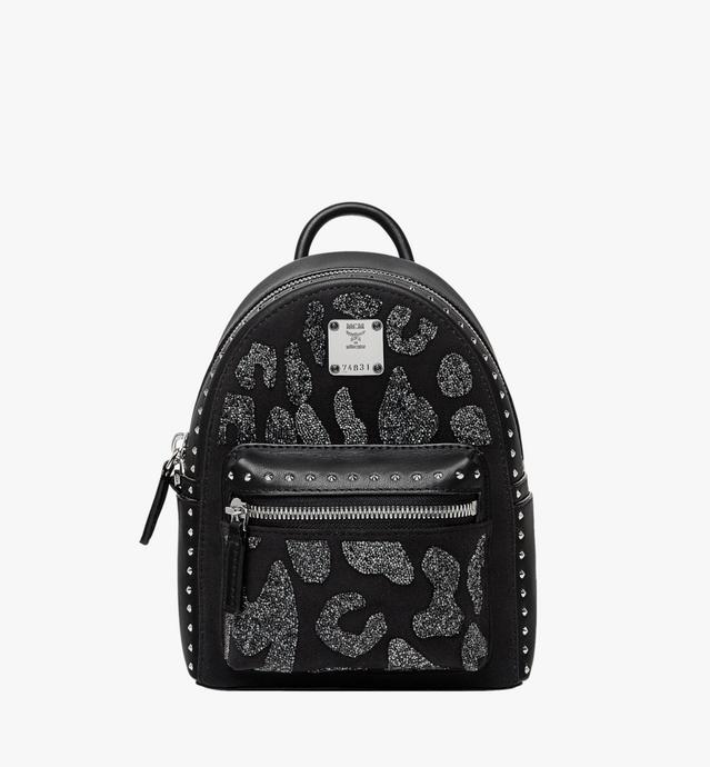 Stark Bebe Boo Backpack in MCM Leopard Crystal