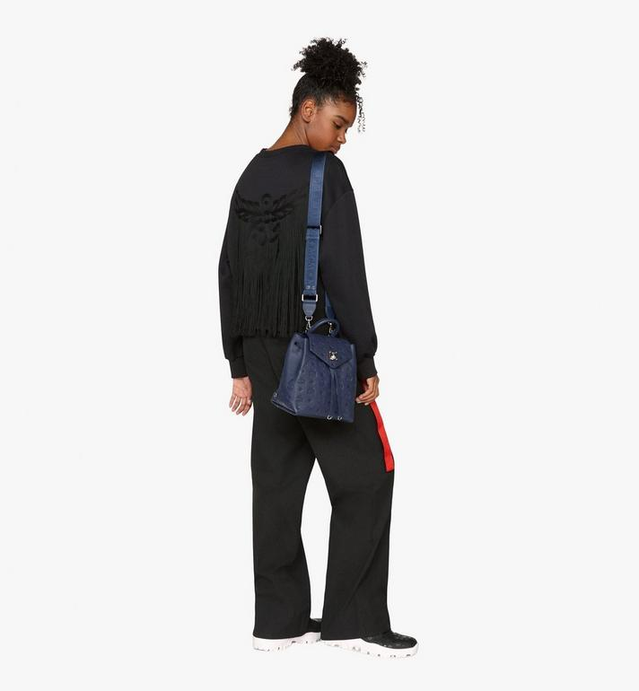 MCM Essential Backpack in Monogram Leather Alternate View 6