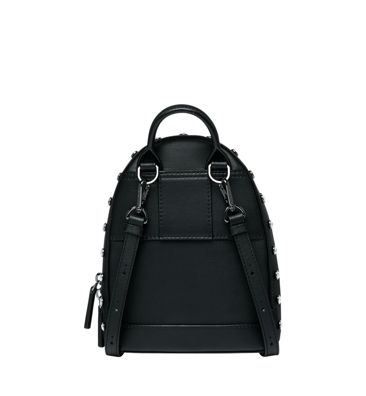 MCM Stark Bebe Boo Backpack in Mosaic Crystal Black MWK9SMS01BK001 Alternate View 5