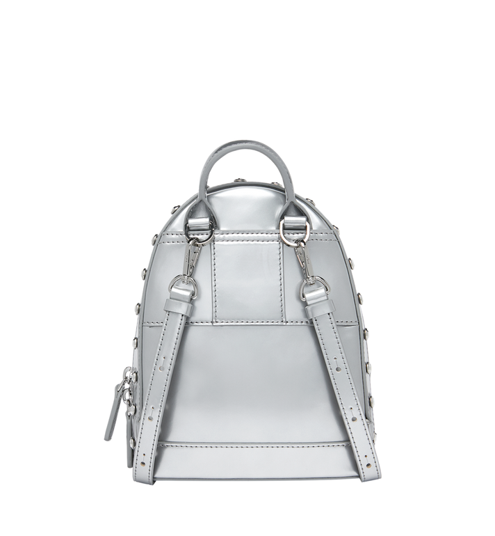 MCM Stark Bebe Boo Backpack in Mosaic Crystal Silver MWK9SMS01SB001 Alternate View 5