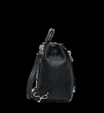 MCM Essential Rucksack aus Leder mit Monogramm Alternate View 3