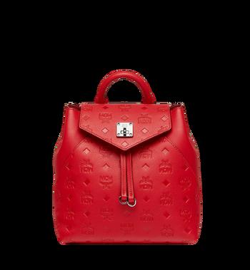MCM Essential Rucksack aus Leder mit Monogramm Alternate View