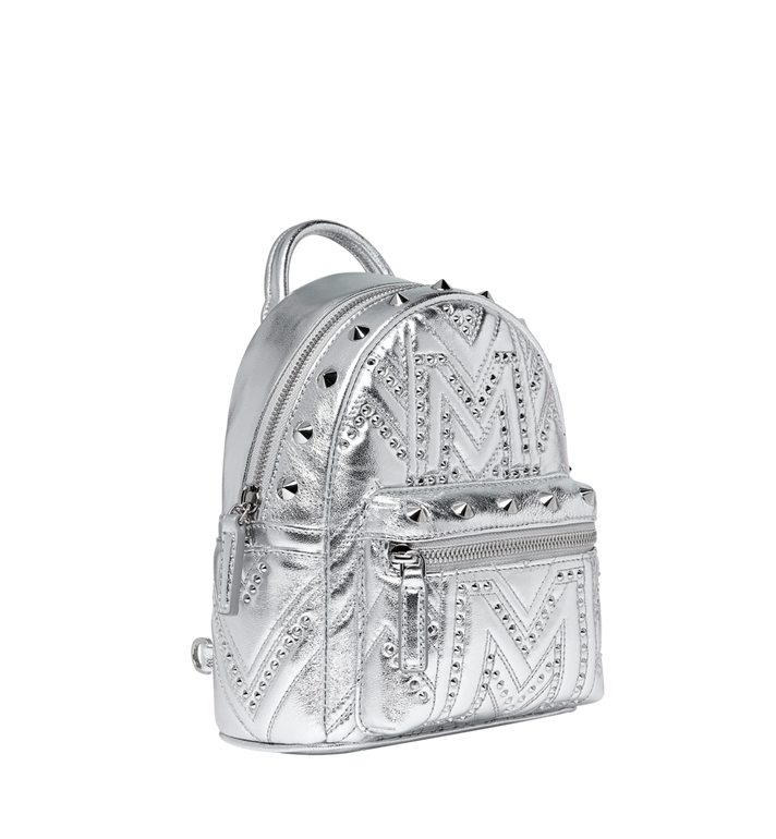 MCM Stark Bebe Boo Rucksack in Quilted Studs Alternate View 2