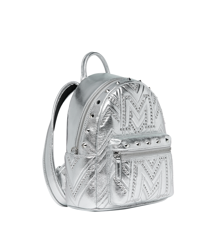 MCM Stark Rucksack in Quilted Studs Alternate View 2