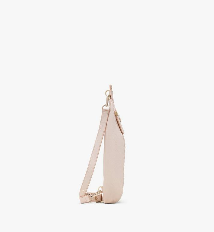 MCM Milano Backpack in Goatskin Leather Pink MWKASDA01IH001 Alternate View 2