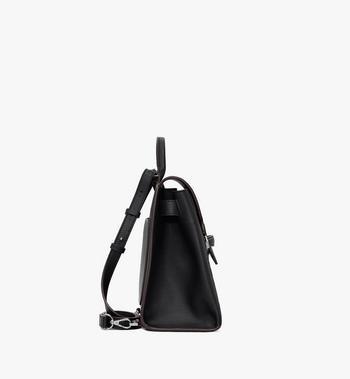 MCM Essential Backpack in Monogram Leather Black MWKASSE01BK001 Alternate View 2