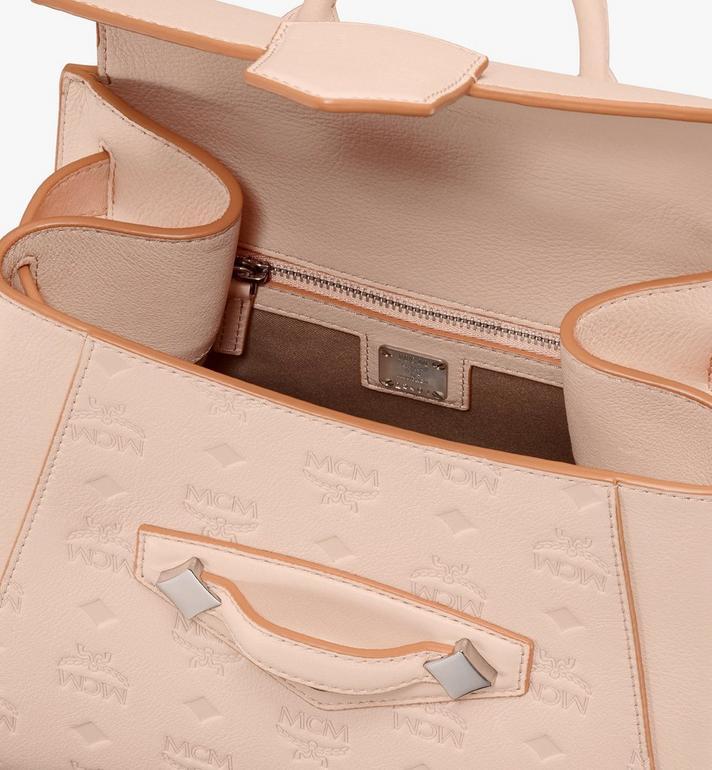 MCM Essential Backpack in Monogram Leather  MWKASSE01II001 Alternate View 4