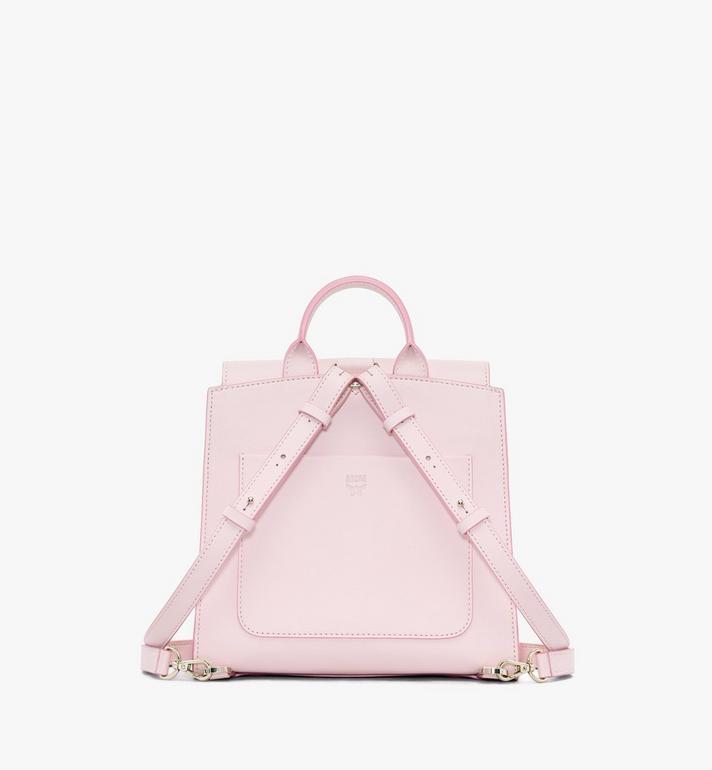 MCM Essential Backpack in Visetos Original Pink MWKASSE02QH001 Alternate View 3