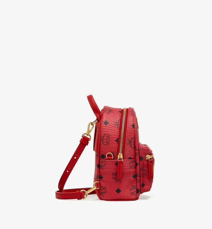 MCM Year Of The Mouse Stark Backpack in Visetos Red MWKASVE04RJ001 Alternate View 2