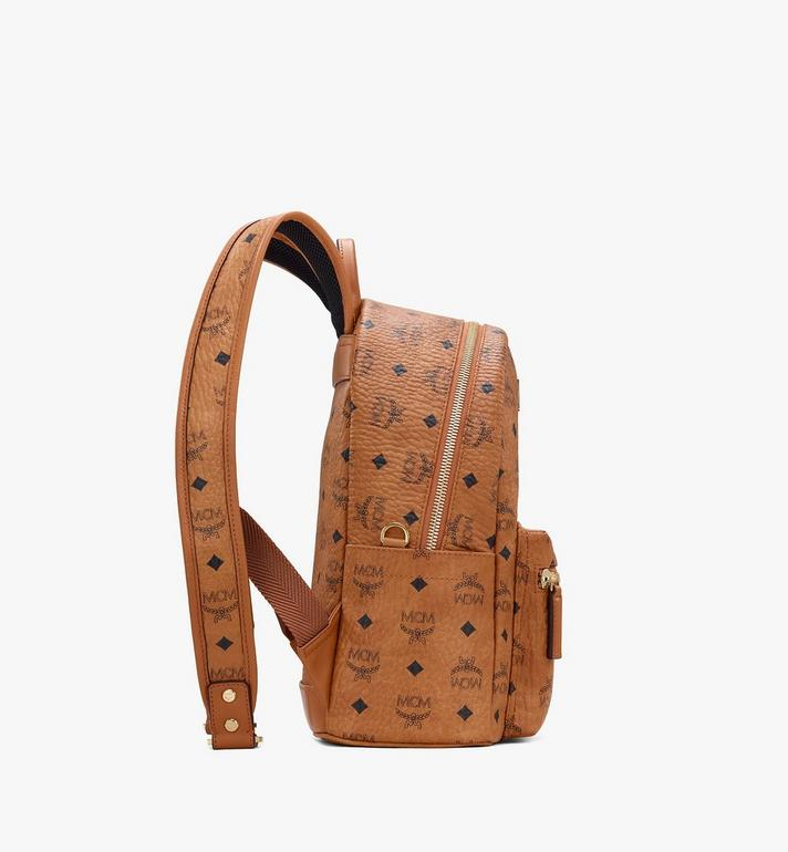 MCM Year Of The Mouse Stark Backpack in Visetos Cognac MWKASVE07CO001 Alternate View 2
