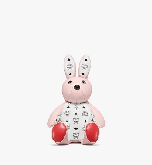 Visetos 系列皮革混搭 MCM Zoo Rabbit 背包