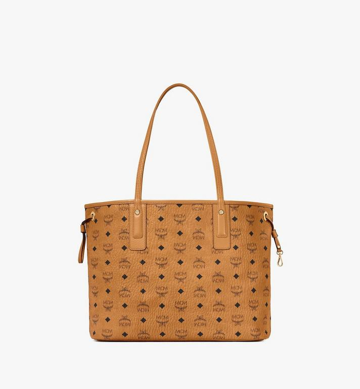 MCM Visetos 系列的可翻轉 Liz Shopper Cognac MWP7AVI22CO001 Alternate View 4