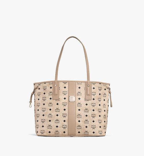 กระเป๋าช็อปเปอร์ Liz แบบใช้ได้สองด้าน ลาย Visetos
