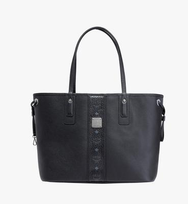 Reversible Liz Shopper in Leather