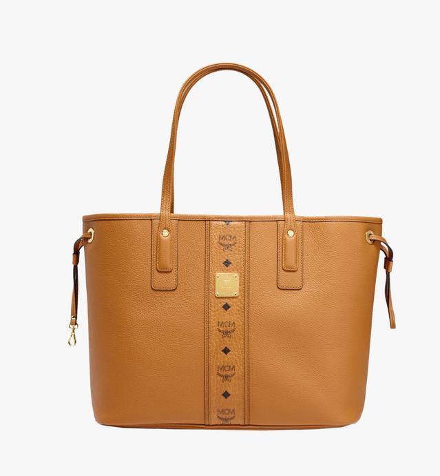 Reversible Liz Shopper in Leather