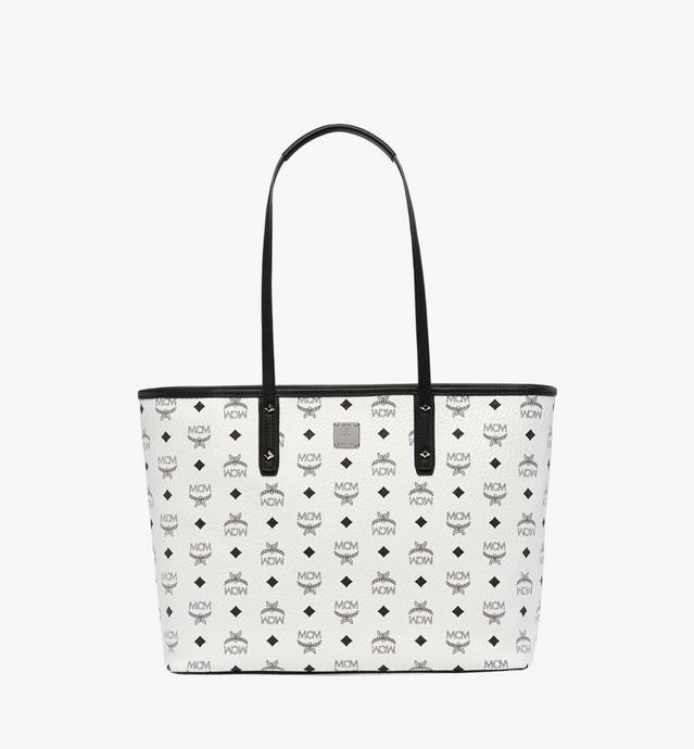 Anya Top Zip Shopper in Visetos
