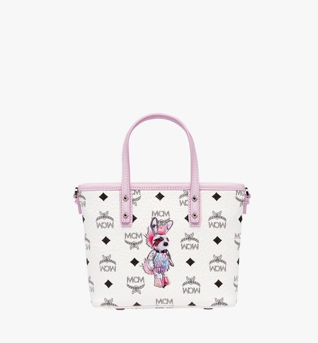 小兔子 Visetos 顶部拉链购物袋