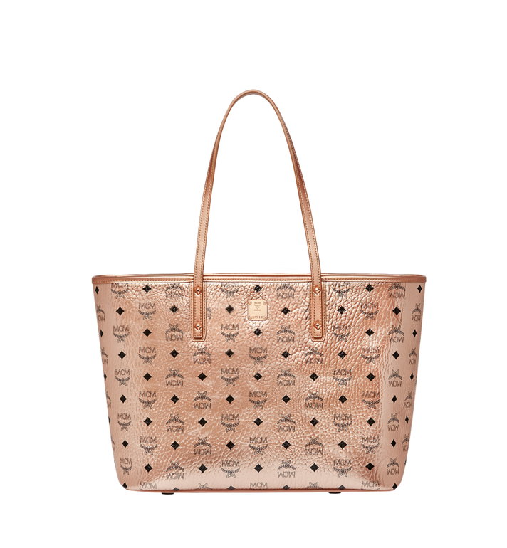 MCM Anya Shopper mit Reissverschluss in Visetos Alternate View
