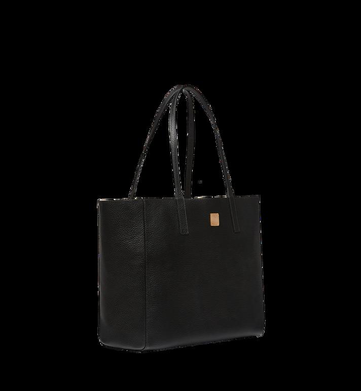 MCM Reversible Koppelene Shopper in Metallic Leather Alternate View 2