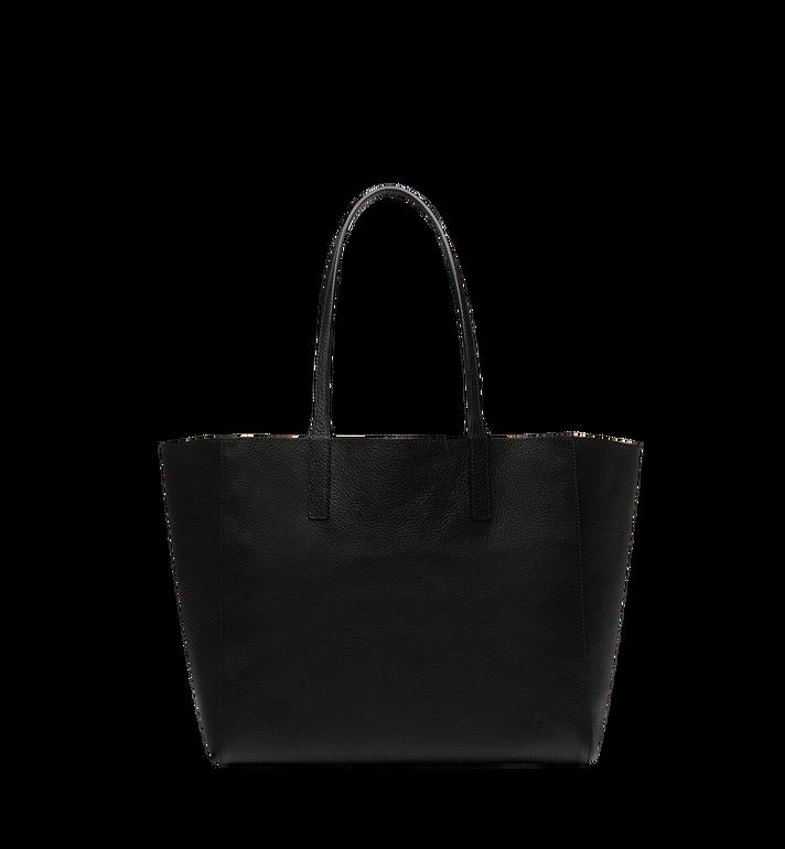 MCM Reversible Koppelene Shopper in Metallic Leather Alternate View 4