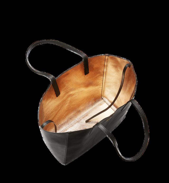 MCM Reversible Koppelene Shopper in Metallic Leather Alternate View 6