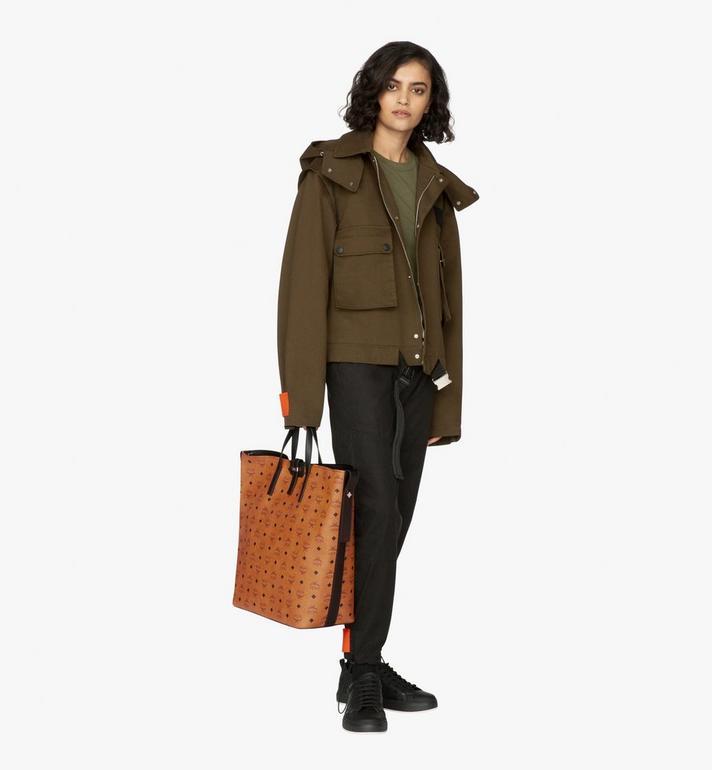 MCM Gunta Shopper in Winter Visetos Cognac MWP9AGU01CO001 Alternate View 6