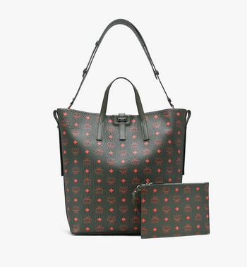 MCM Gunta Shopper in Winter Visetos Alternate View 2