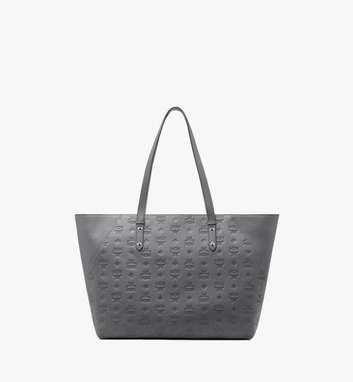 Klara Monogram Shopper in Leather