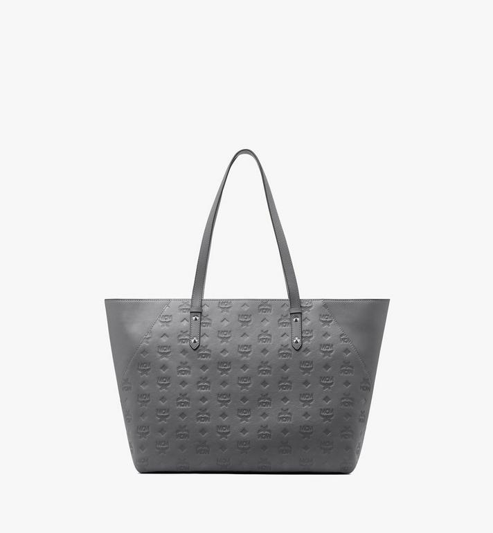 MCM Klara Monogram Shopper in Leather  MWP9AKM51EC001 Alternate View 1