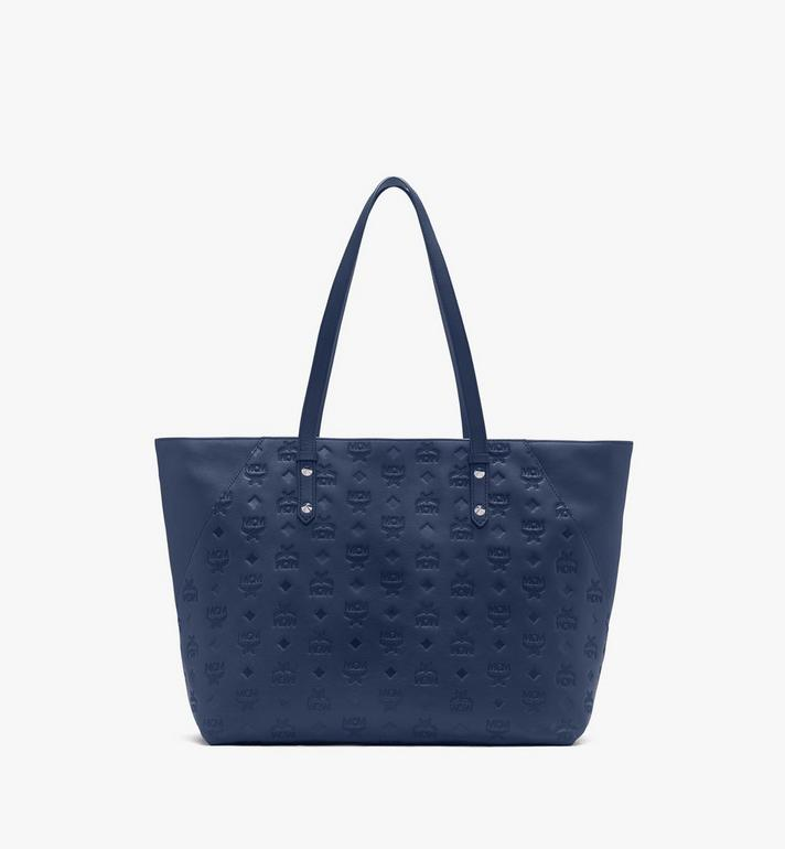 MCM Klara Shopper aus Leder mit Monogramm Alternate View