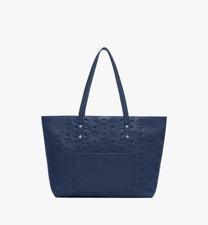 MCM Klara Shopper aus Leder mit Monogramm Alternate View 3
