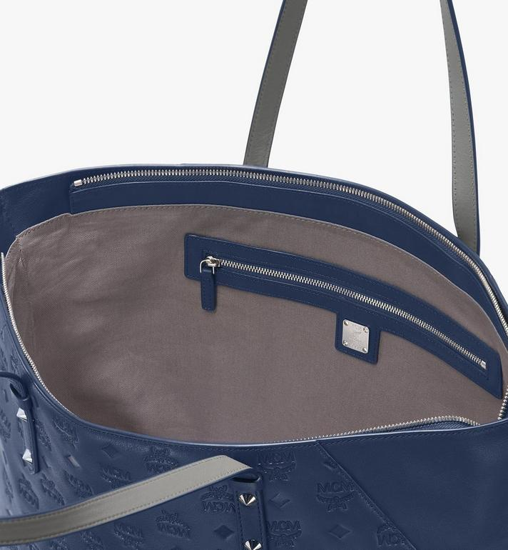 MCM Klara Shopper aus Leder mit Monogramm Alternate View 4