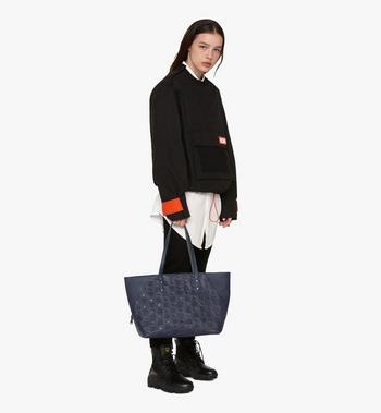 MCM Klara Monogram Shopper in Leather  MWP9AKM51VA001 Alternate View 5