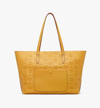 MCM Klara Monogram Shopper in Leather  MWP9AKM51YJ001 Alternate View 3