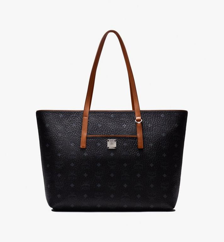 MCM Anya Visetos 購物袋 Black MWP9AVI61BK001 Alternate View 1