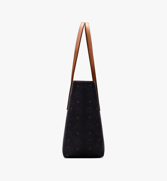 MCM Anya Shopper in Visetos Black MWP9AVI61BK001 Alternate View 2