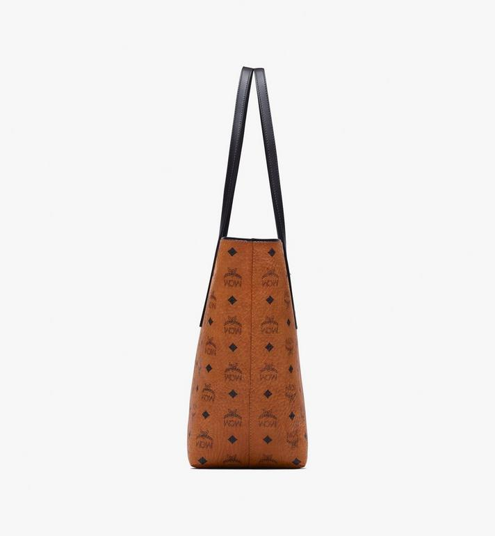 MCM Anya Shopper in Visetos Cognac MWP9AVI61CO001 Alternate View 2