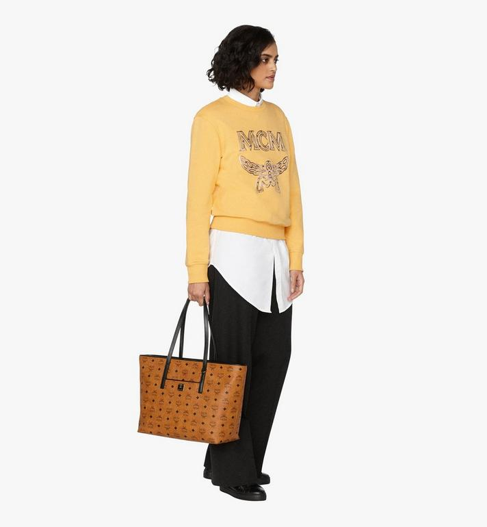 MCM Anya Shopper in Visetos Cognac MWP9AVI61CO001 Alternate View 5