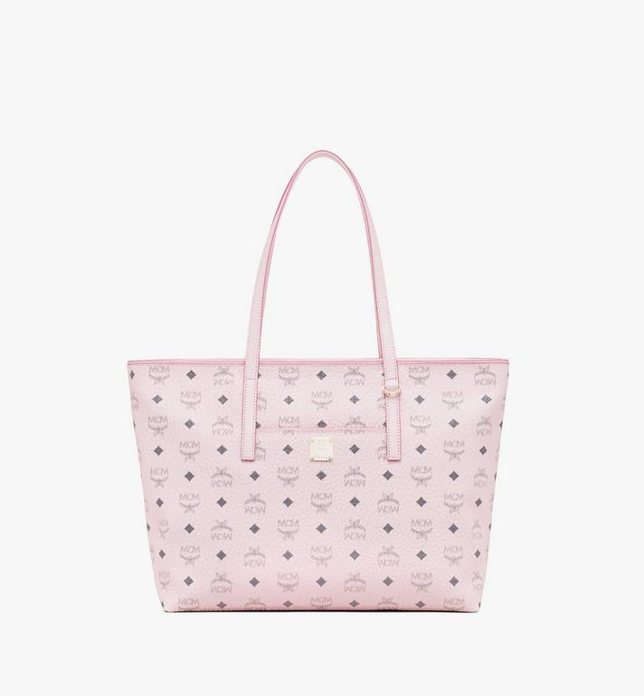 MCM Anya Shopper in Visetos Pink MWP9AVI61QH001 Alternate View 1