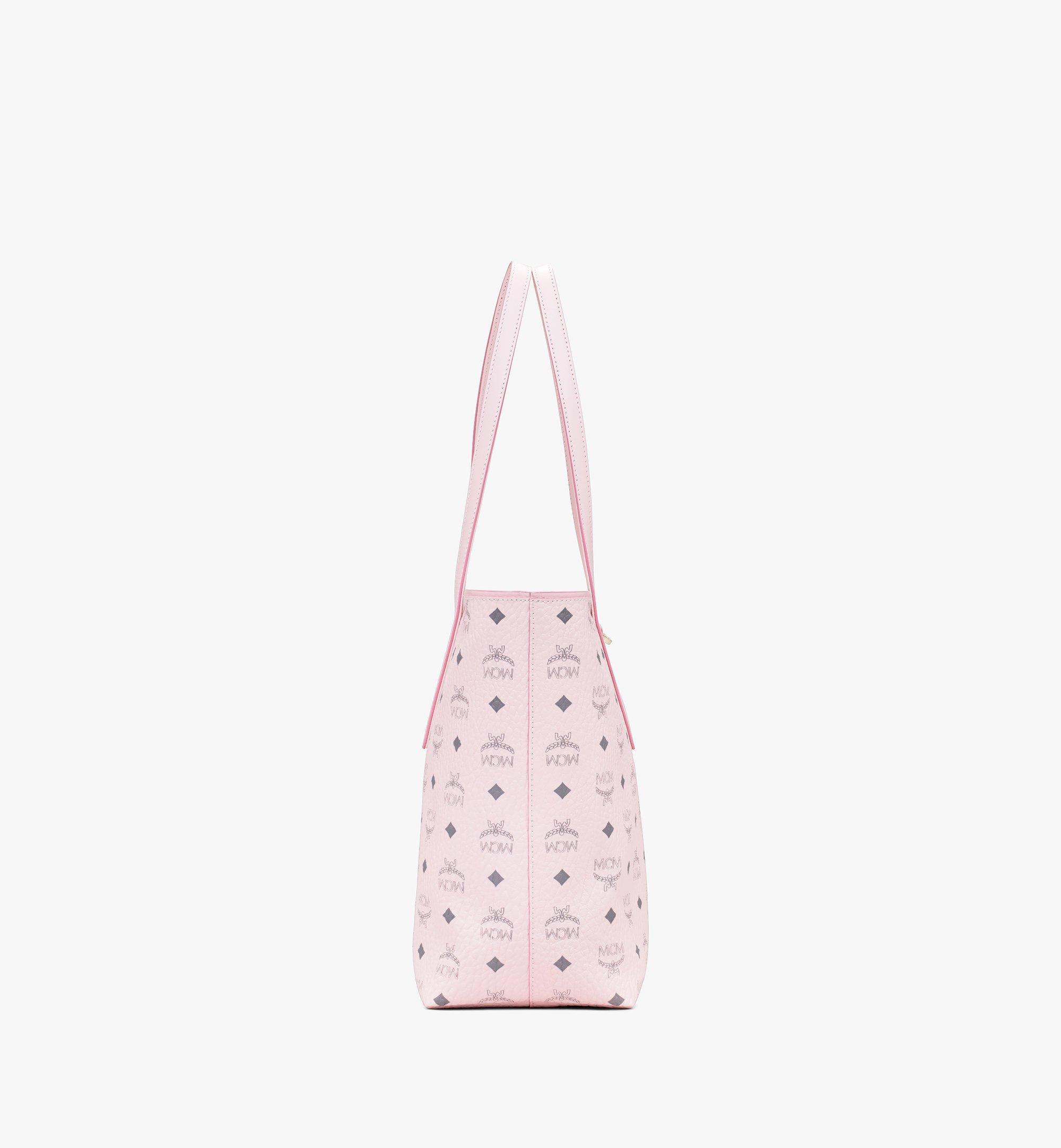 MCM Visetos 系列的 Anya Shopper 包款 Pink MWP9AVI61QH001 Alternate View 2