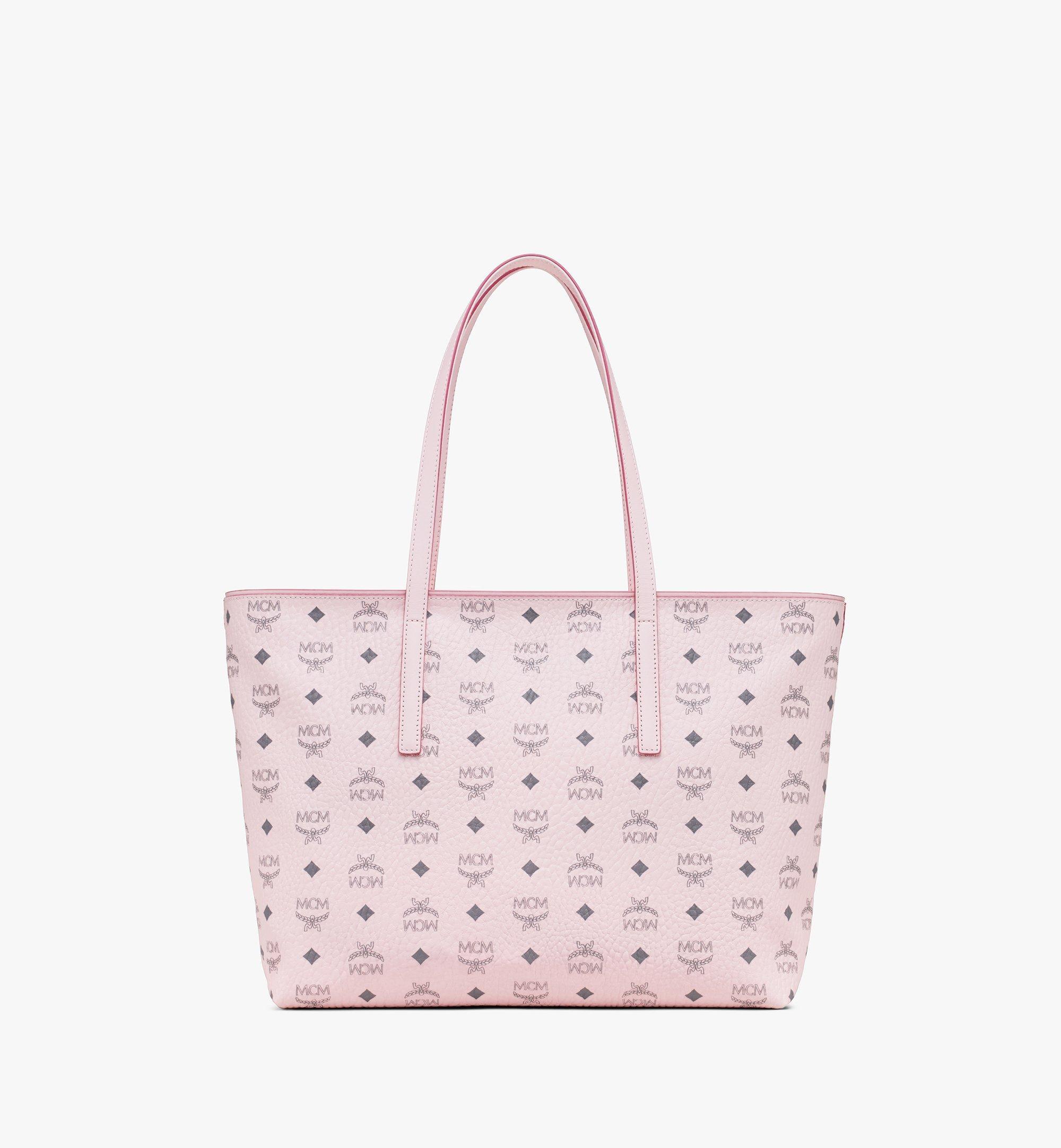 MCM Visetos 系列的 Anya Shopper 包款 Pink MWP9AVI61QH001 Alternate View 3