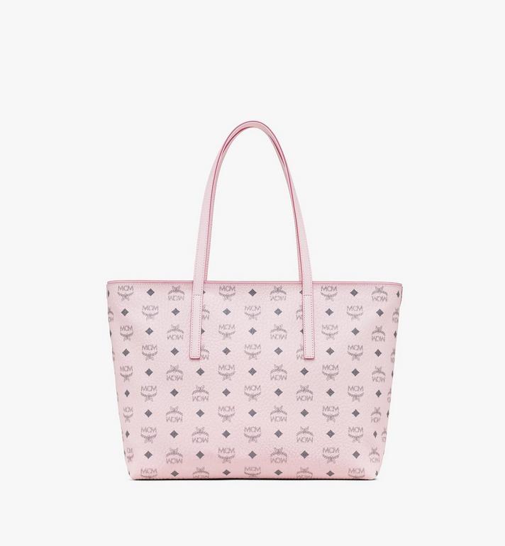 MCM Anya Shopper in Visetos Pink MWP9AVI61QH001 Alternate View 3
